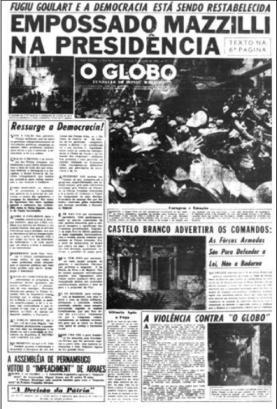 globo ditadura jornal
