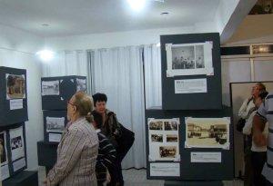 Na exposição, várias fotos antigas da Vila Operária