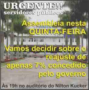 sindicato urgente assembleia