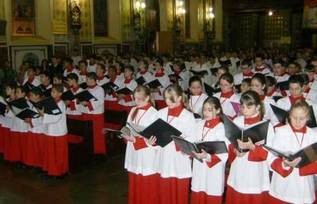 Congresso dos Meninos Cantores em Campo Largo (PR)