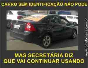 carro identificado