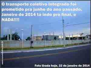 transporte integrado itajai