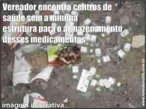 vacina lixo