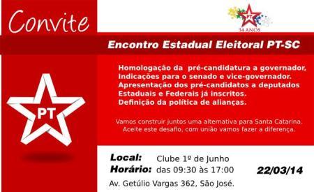 convite PT