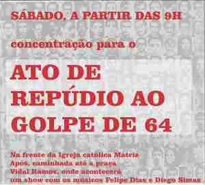 repudio ao golpe