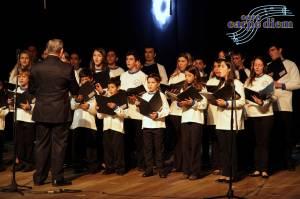 Foto de Nelson Robledo, no Teatro Municipal de Itajaí