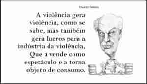 galeano violencia frase