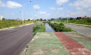 Avenida Jacob Ardigó (continuação), praticamente parada desde 2012...