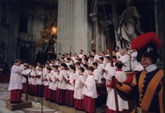 chorus pueri cantores